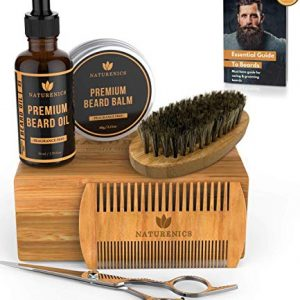 Naturenics Premium Beard Grooming Kit for Men