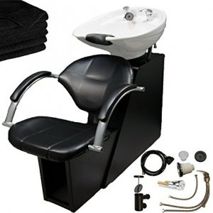 LCL Beauty Professional Adjustable Ceramic Shampoo Backwash Station