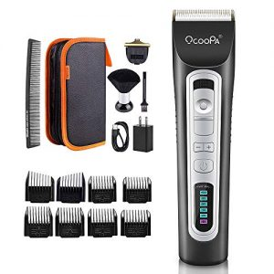 Cordless Beard Trimmer, OCOOPA Professional Hair Clippers