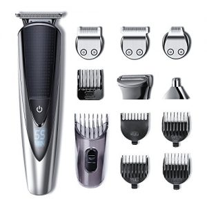 Hatteker Mens Beard Trimmer Kit Body Mustache Trimmer Hair Trimmer
