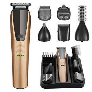 Beard Trimmer 6 in 1 Trimmer for Men Cordless Hair Clippers