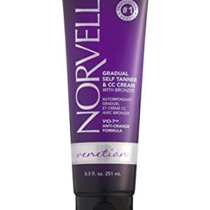 Norvell Venetian Sunless CC Tanning Color Extender Moisturizing Lotion