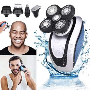 5-in-1 Electric Shaver & Grooming Kit for Men, Hair Razor for a Perfect Bald