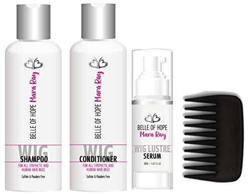 Mara Ray Luxury Hair Care Kits for Synthetic and Human Hair Wigs