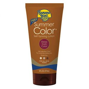 Banana Boat Self Tanning Sunless Lotion for a Natural Looking Tan