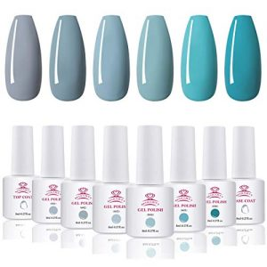 Makartt Gel Nail Polish Set - Fall Winter Series 6 Colors
