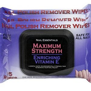 Nail Essentials Nail Polish Remover Wipes - Vitamin E Enriched