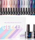 Gellen Gel Nail Polish Kit 16 Colors With Top Base Coat