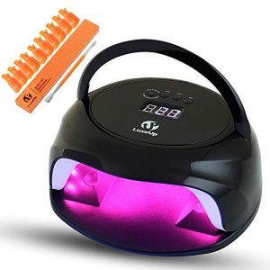 LuxeUp 85W UV LED Nail Gel Polish Curing Lamp