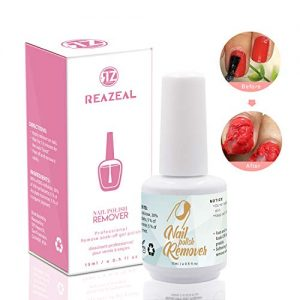 Reazeal Magic Nail Polish Remover Removes Soak-Off Gel Nail Polish