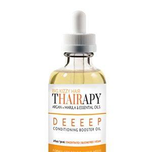 Big Kizzy Thairapy - Hair Oil for Dry Damaged Hair, Repair Treatment Booster