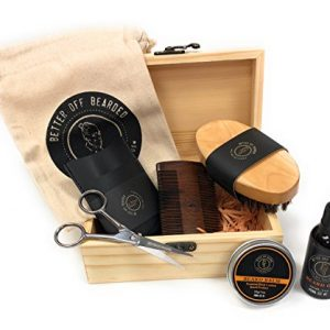 Beard Grooming Kit For Men: Premium Men's Set For Your Special Man