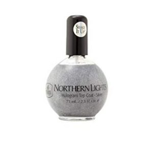 INM Northern Lights Hologram Top Coat Silver