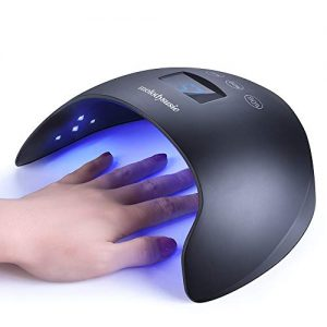 MelodySusie LED UV Nail Lamp- 48W Nail Dryer for Gel Nail Polish