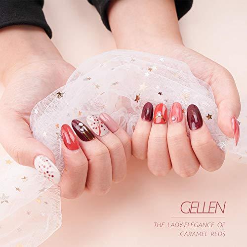 Gellen Gel Nail Polish Kit with UV Light 24W - Popular