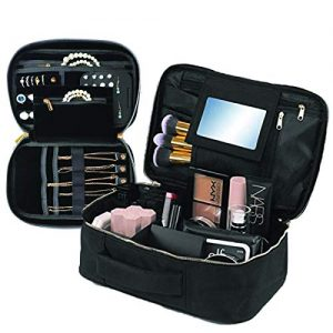 Travel Makeup and Jewelry Set | 2pc Luxury Cosmetic Case