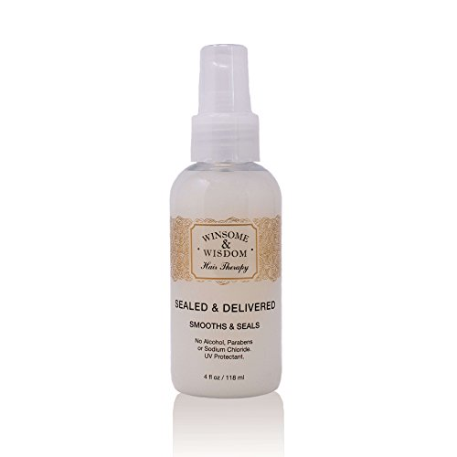 Sealed & Delivered Leave In Keratin Treatment Hair Conditioner Serum