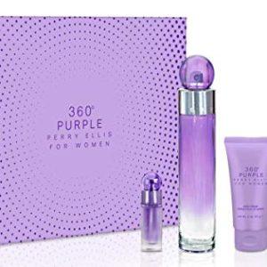 Perry Ellis Fragrances Purple 4-piece Gift Set for Women