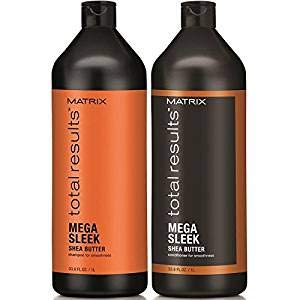 Total Result Mega Sleek Shea Butter Shampoo & Conditioner