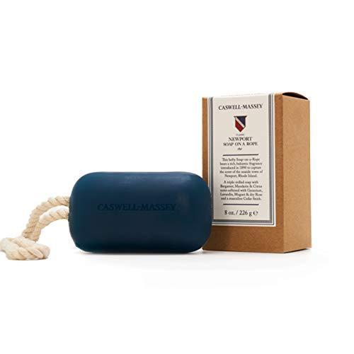 Caswell-Massey Triple Milled Luxury Bath Soap Newport Soap On A Rope