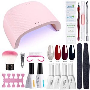 AZUREBEAUTY Gel Nail Polish Starter Kit