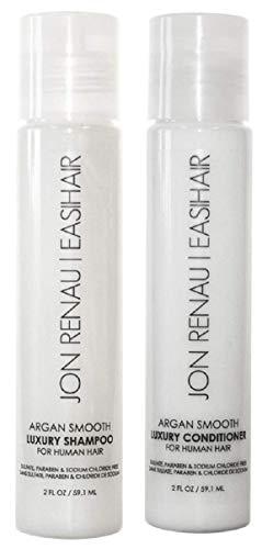 Jon Renau   EasiHair Argan Smooth Shampoo & Conditioner Set
