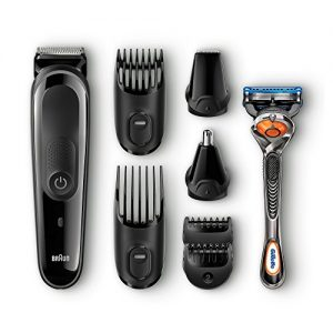 Braun 8-in-1 All-in-One Beard Trimmer for Men, Cordless Hair Clipper