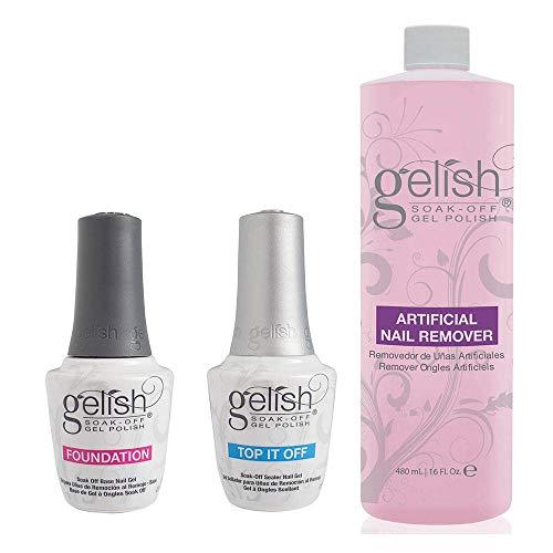 Gelish Dynamic Duo Base and Top It Off Sealer & Soak Off Gel