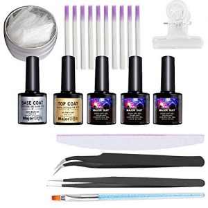 Fiber Nails Kit Fiberglass Nail Form for Acrylic Nail Salon Nail