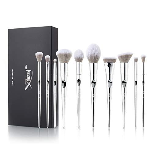 Jessup cosmetic brush set - 10pcs luxurymakeupbrushes