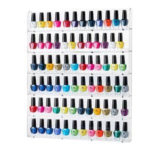 Sagler Rack Acrylic Organizer Holds up to 102 Bottles