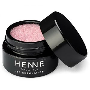 Henné Organics Lip Exfoliator Scrub - Organic Sugar Scrubs for Lips