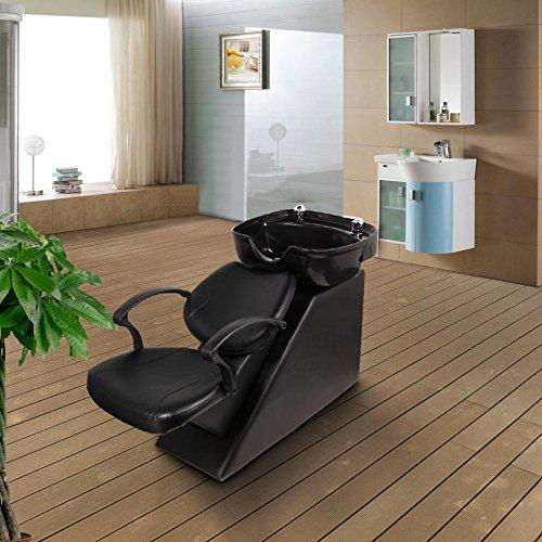 Esright Backwash Chair Salon Bowl Shampoo Equipment Sink Unit