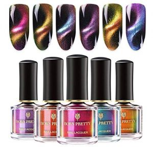BORN PRETTY Nail Polish Set Magnetic Cat Eye Chameleon Nails Polish