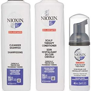 Nioxin Hair Care System 6 for Chemically Treated Progressed