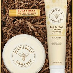 Burt's Bees Mama Bee Gift Set with Tin, 3 Pregnancy Skin Care Products