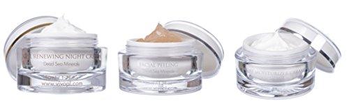Vivo Per Lei Moisturizer, Renewing Night & Facial Peeling Skin Care Set