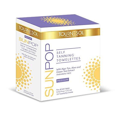 SunPop Self Tanning Towelettes Medium 10-count