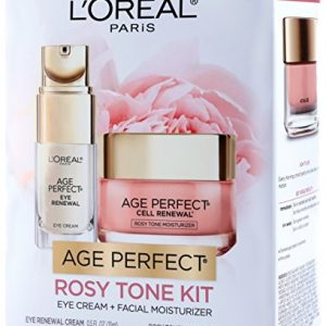 L'Oréal Paris Skin Care Giftable Kit with Age Perfect Rosy Tone Face