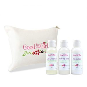 Good For You Girls Three-Step Skincare Kit for Teens