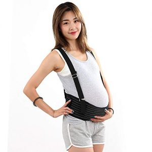 GuoYq Pregnancy Belt,Stomach and Lower Back Support Comfortable Belly