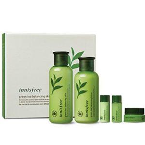 Innisfree Green Tea Balancing Skin Care Set