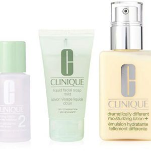 Clinique 3 Piece 3 Step Skin Care Introduction Kit for Unisex