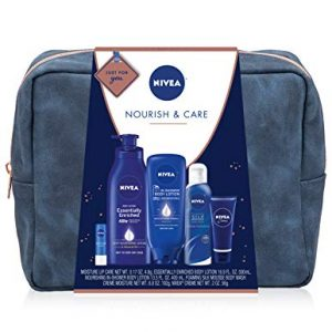 NIVEA Pamper Time Gift Set - 5 Piece Luxury Collection of Moisturizing Products