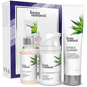 Youth Restoring Night Holiday Bundle - Glycolic Cleanser, Retinol Serum