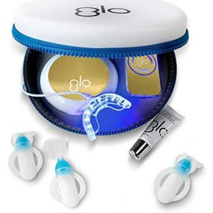 GLO Brilliant Complete Teeth Whitening System Kit