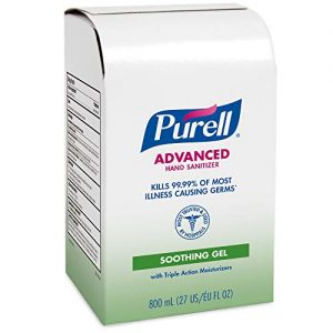 PURELL Advanced Hand Sanitizer Soothing Gel, Fresh Scent
