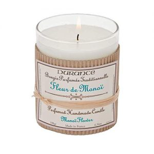 Durance de Provence Hand Crafted Scented Candle - Monoi Flower