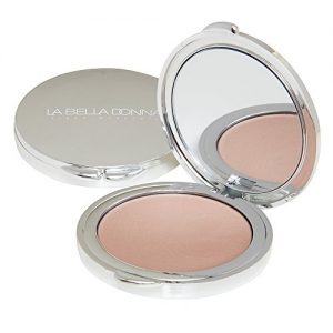 La Bella Donna Illuminating Cream Highlighter Compact, Formulated