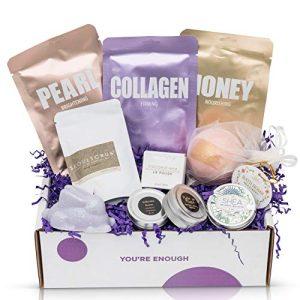 Cruelty-Free Bath Body & Spa Gift Box - Bath Bomb, Shea Butter Tin